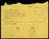 view Telegram from McCain on July 15, 1918 digital asset number 1
