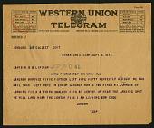 view Telegram from Jordan on September 6, 1918 digital asset number 1