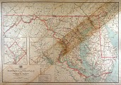 view Post route map of Maryland, Delaware, and D.C. digital asset number 1