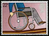 view 22p Man In Wheelchair single digital asset number 1