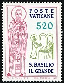 view 520 lire St. Basil the Great Visiting the Sick single digital asset number 1