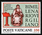view 350 lire Virgil Seated at Podium single digital asset number 1