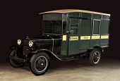 view Ford Model AA 1-ton parcel post truck digital asset number 1
