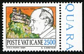 view 2500 lire Papal Journey to San Marino single digital asset number 1