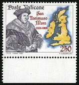 view 250 lire St. Thomas More and Map of British Isles single digital asset number 1