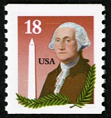 view 18c George Washington and Washington Monument single digital asset number 1
