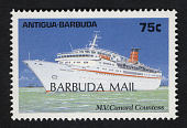 view 75c Caribbean Cruise Ships MV Cunard Countess single digital asset number 1
