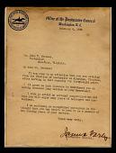 view Letter of retirement for John T. Jackson digital asset number 1