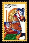 view 25c Carousel Horse single digital asset number 1