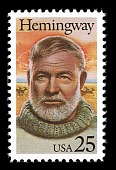 view 25c Ernest Hemingway single digital asset number 1