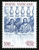 """view 550 lire """"Marriage of Cana"""" single digital asset number 1"""
