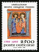 view 2500 lire Mary, Elizabeth and Infants single digital asset number 1