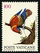 view 100 lire Parrot single digital asset number 1
