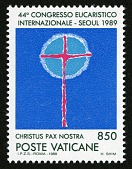 view 850 lire Symbol of the Eucharist single digital asset number 1