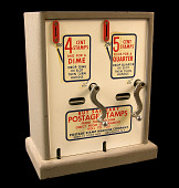 view Two-slot postage stamp vending machine digital asset number 1