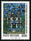 view 2000 lire Church of the Redeemer single digital asset number 1