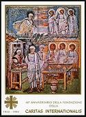 view Caritas International 40th Anniversary souvenir sheet digital asset number 1