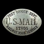 view RMS clerk cap badge, number 17805 digital asset number 1