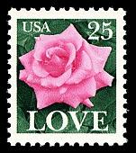 view 25c LOVE Rose single digital asset number 1