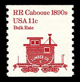 view 11c Railroad Caboose coil single digital asset number 1