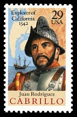 view 29c Juan Rodriguez Cabrillo single digital asset number 1