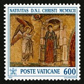view 600 lire The Annunciation single digital asset number 1