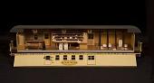 view Lake Shore & Michigan Fast Mail train model digital asset number 1
