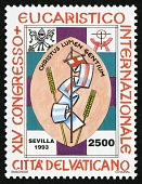 view 2500 lire Congress Emblem and Vatican Arms single digital asset number 1
