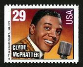 view 29c Clyde McPhatter single digital asset number 1