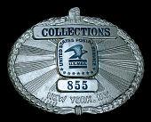 view Collections Service Employee Chest Badge, Number 855 digital asset number 1