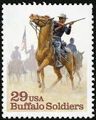 view 29c Buffalo Soldiers single digital asset number 1