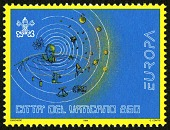 view 850 lire Galileo in Center of Solar System single digital asset number 1