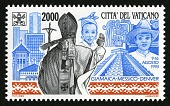view 2000 lire Travels of Pope John Paul II to Jamaica, Mexico and US single digital asset number 1