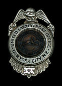 view Administrative employee chest badge, number 3655 digital asset number 1