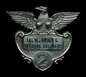 view Messenger cap badge, number 2 digital asset number 1