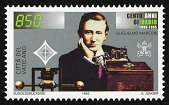 view 850 lire Guglielmo Marconi and Transmitting Equipment single digital asset number 1