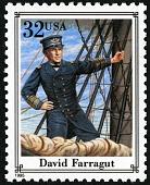 view 32c David Farragut single digital asset number 1