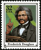 view 32c Frederick Douglass single digital asset number 1