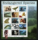 view 32c Endangered Species pane of fifteen digital asset number 1
