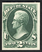 view 2c Andrew Jackson State Department card plate proof digital asset number 1