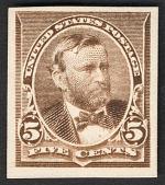 view 5c Ulysses S. Grant card plate proof digital asset number 1