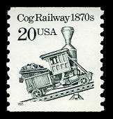 view 20c Cog Railway coil single digital asset number 1