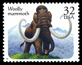 view 32c Woolly Mammoth single digital asset number 1