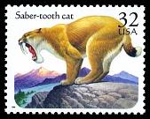 view 32c Saber-tooth Cat single digital asset number 1