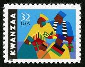 view 32c Kwanzaa single digital asset number 1