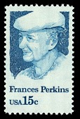 view 15c Frances Perkins single digital asset number 1