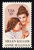 view 15c Helen Keller and Anne Sullivan single digital asset number 1