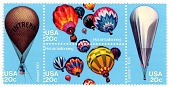 view 20c Balloons block of four digital asset number 1