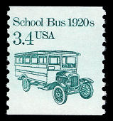 view 3.4c School Bus single digital asset number 1