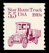 view 5.5c Star Route Truck single digital asset number 1